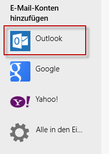 Win 8 Outlook